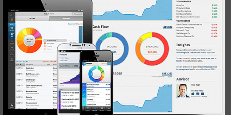 Personal Capital dashboard - free financial management software