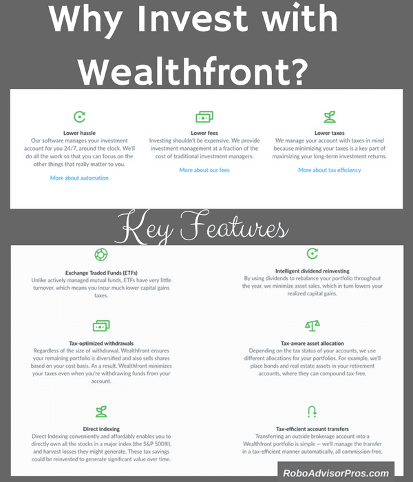 Here are the reasons why to invest with Wealthfront