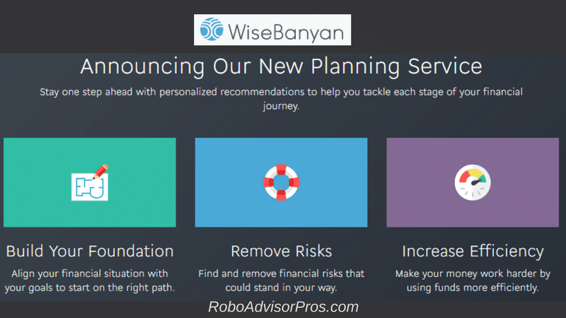 Best WiseBanyan Review - Planning Service to help with your financial future goals.