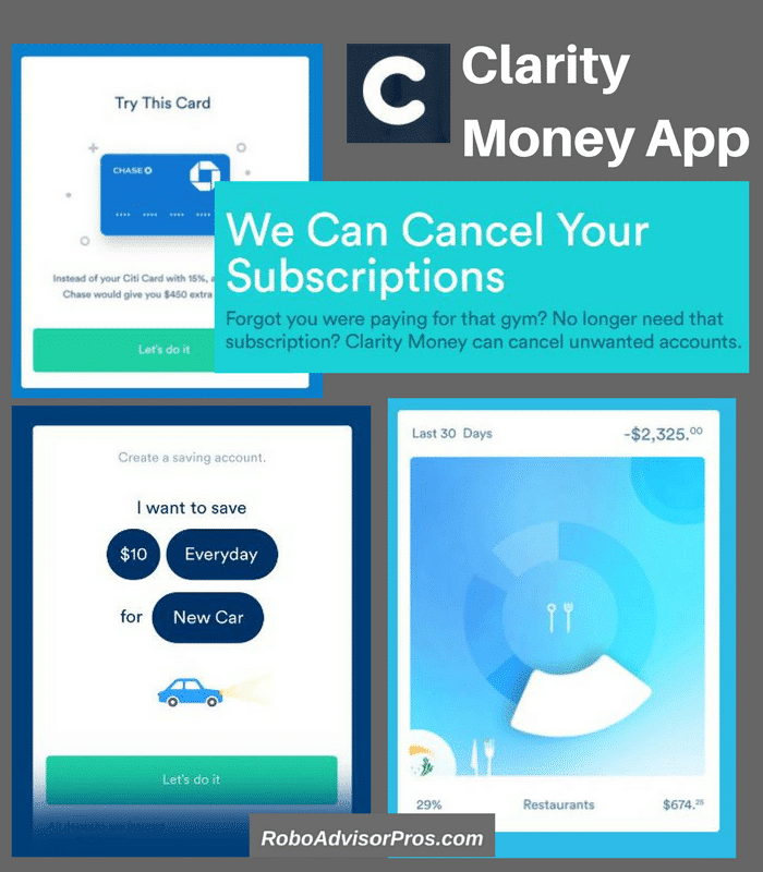 Clarity Money Review - Free money management tool that helps save, budget & more.