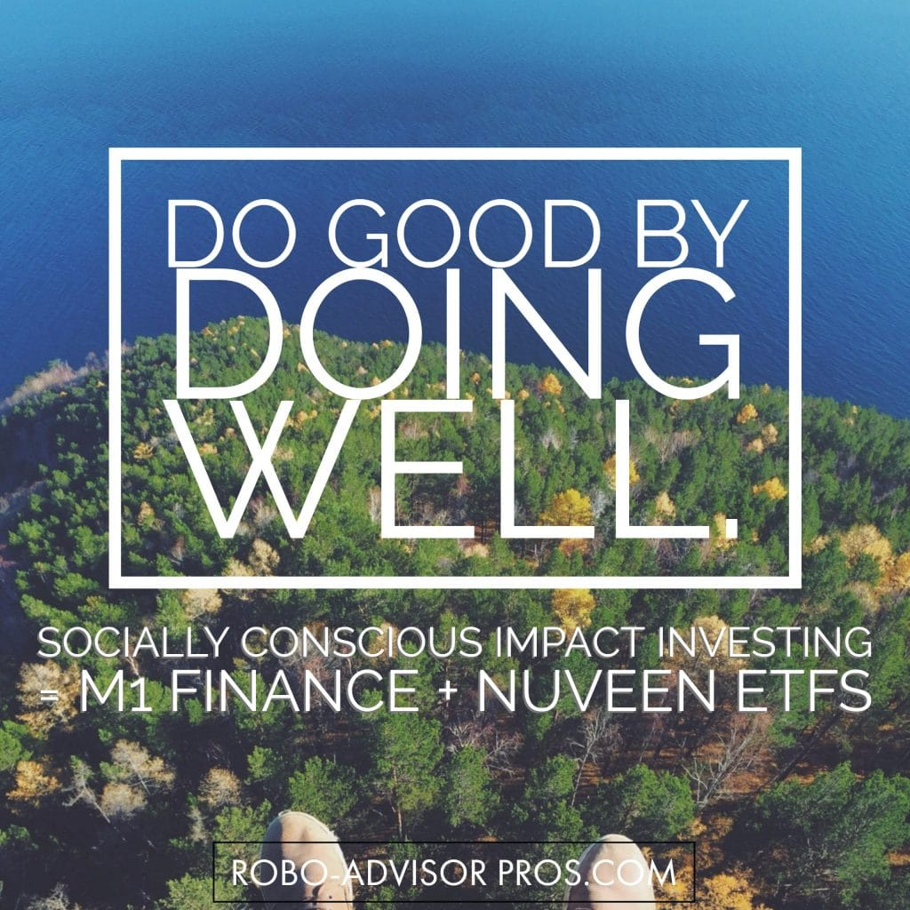 M1 Finance adds socially responsible investing to their DIY - robo-advisor investment model.