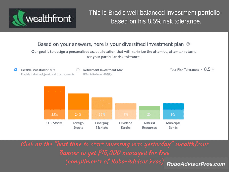 Wealthfront Review-Path Financial Planner-How to sign up for Wealthfront