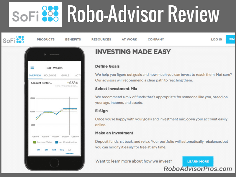 SoFi robo-advisor review investigates the pros & cons of this robo-advisor.
