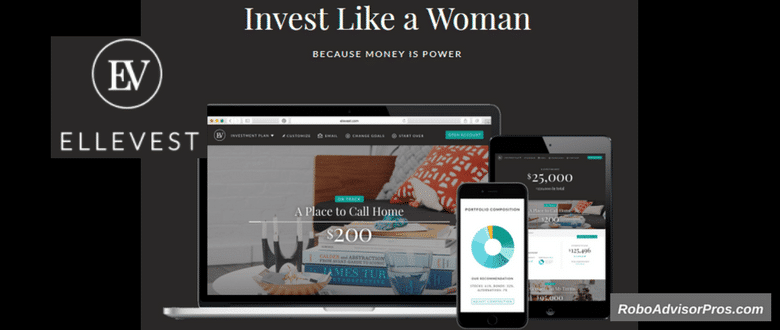 Ellevest Review-Get indepth analysis of pros + cons of robo advisor for women.