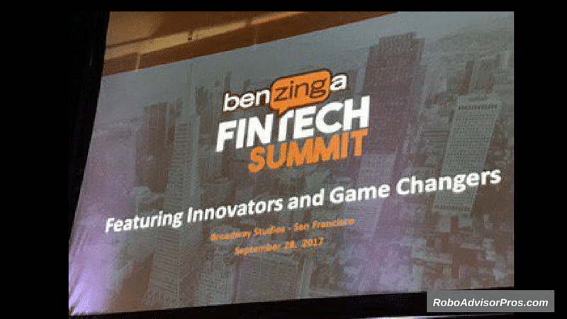 2017 Benzinga Fintech Summit - San Fransisco showcased top fintech firms in real estate and investing