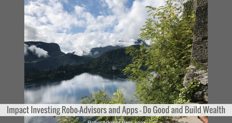 Impact investing robo-advisors are adding choices to the socially responsible sphere.