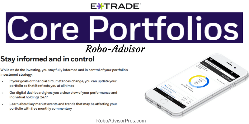 E*TRADE Core Portfolios Robo-Advisor Review