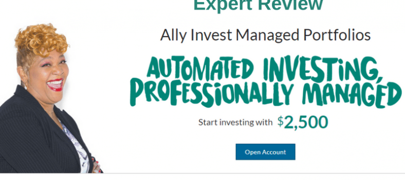 Ally Invest Managed Portfolios Robo Advisor Review - diverse ETFs