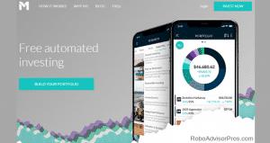 M1 Finance returns_ best robo advisor returns