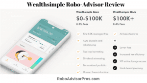 Wealthsimple review - robo-advisor with niche plans for specific investors.