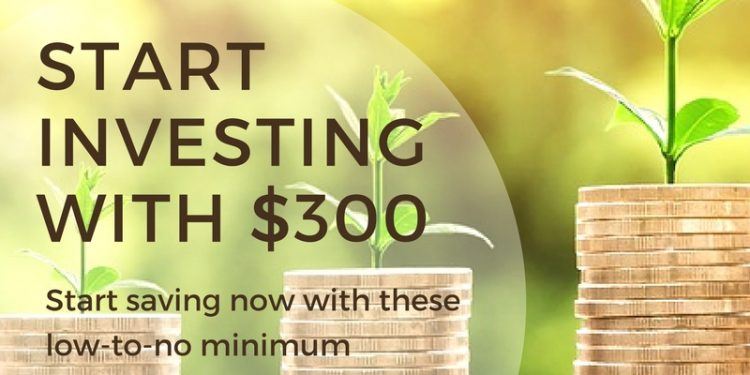 Start investing with little money. Just $300 and you can start building wealth.