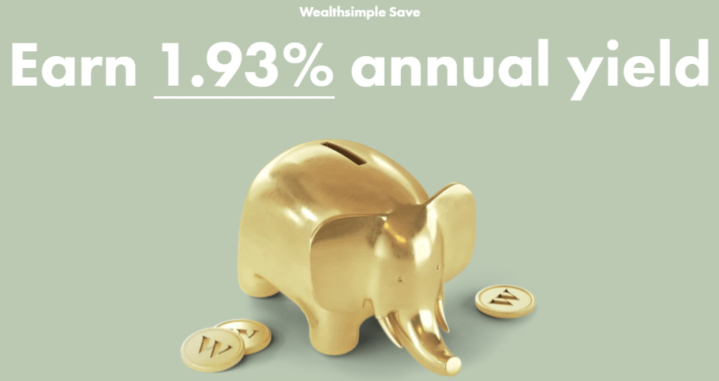 Wealthsimple Save for high returns on your cash