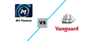 M1 Finance vs Vanguard logos