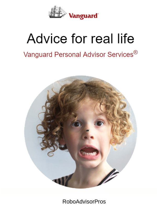 betterment vs. vanguard personal advisors