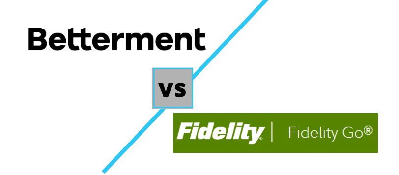 Betterment vs Fidelity Go logos