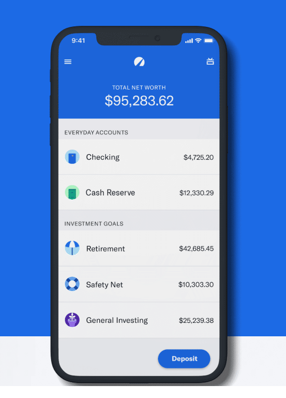 betterment mobile view