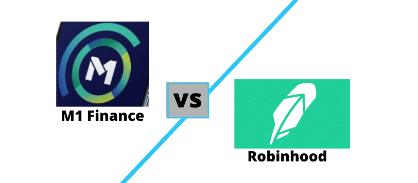 m1-finance-vs-robinhood-logos