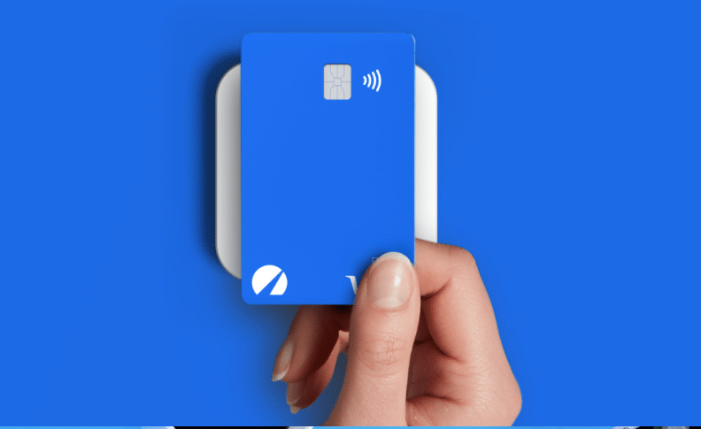 debit card reader and card