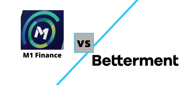 M1 Finance vs Betterment logos