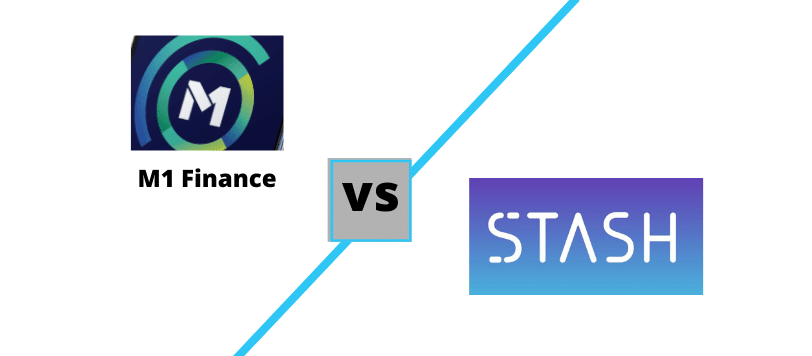 M1 Finance vs Stash logos