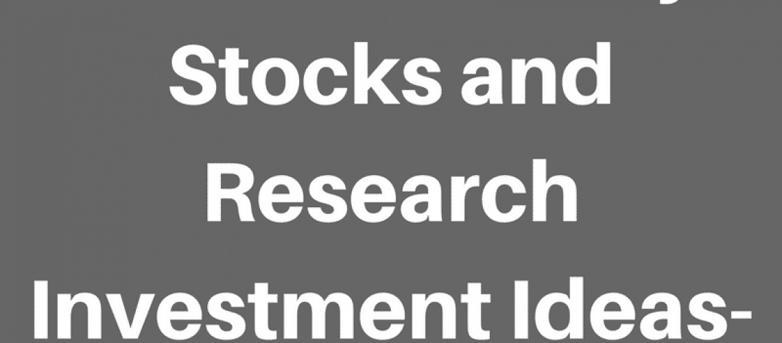 Best site to buy stocks and research investment ideas.