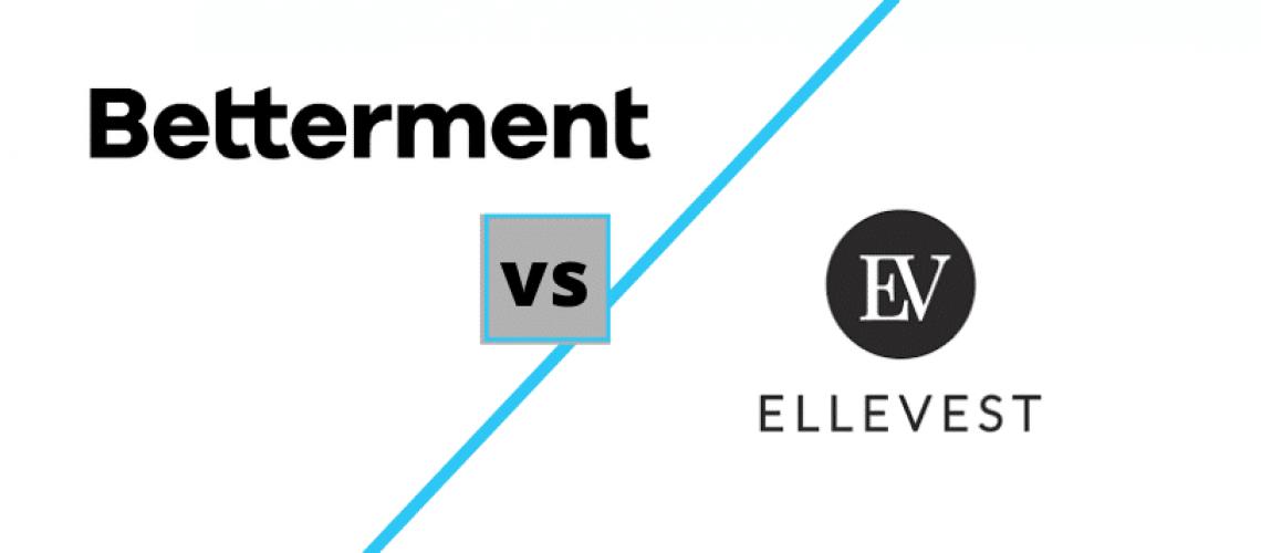 Betterment vs Ellevest logos