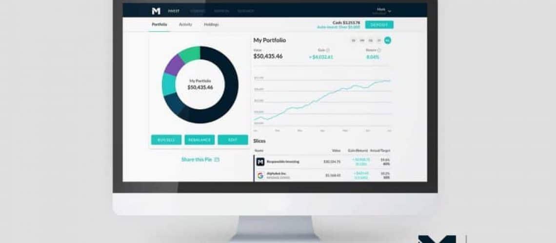 m1 finance dashboard