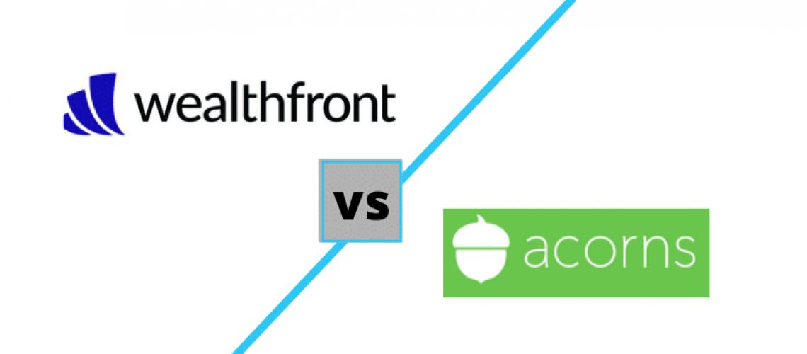 wealthfront vs acorns comparison