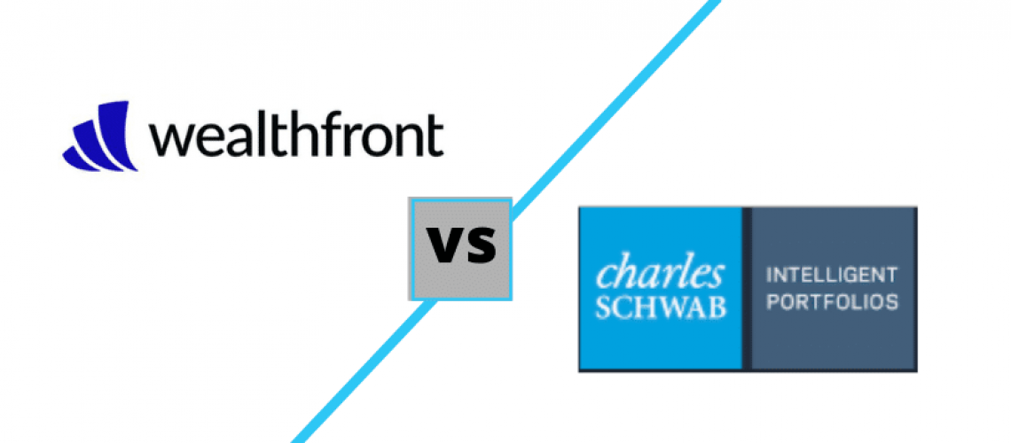 wealthfront vs schwab intelligent portfolios logos